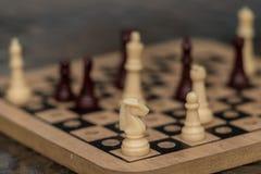 Xadrez do jogo do esporte para o relkax Imagens de Stock