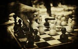 Xadrez do vintage Fotografia de Stock Royalty Free