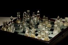 Xadrez e batalha Imagens de Stock