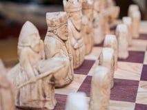 Xadrez europeia do estilo Fotografia de Stock