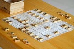 Xadrez japonesa Fotografia de Stock Royalty Free