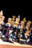 Xadrez na placa Foto de Stock Royalty Free