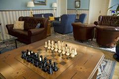 Xadrez no quarto luxuoso foto de stock royalty free
