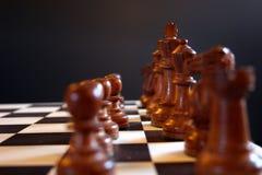 Xadrez, o começo Foto de Stock Royalty Free