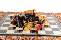 Xadrez Placa de xadrez Imagens de Stock