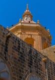 Xaghra Church Dome Stock Photos