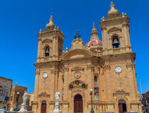 Xaghra Church in Gozo Royalty Free Stock Photography