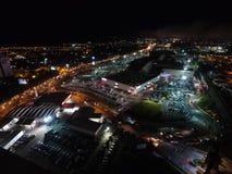 Xalapa, Veracruz at night. Las Animas área Stock Photos