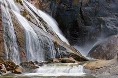 Xallas waterfall. Ezaro, A Coruna, Spain. Xallas River Waterfall, in Ezaro, A Coruña, Spain Stock Photos