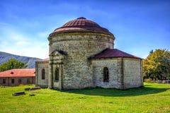 Xan masjid, Khan-moskee, Sheki, Azerbeidzjan royalty-vrije stock foto