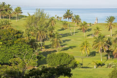 Xanadu golf course in Cuba Royalty Free Stock Photography