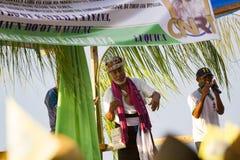 Xanana Gusmão на ралли кампании CNRT Стоковые Фотографии RF