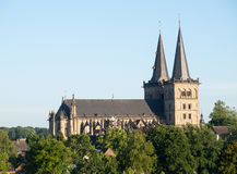 Xanten Cathedral Stock Image