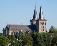 Xanten Cathedral Royalty Free Stock Image