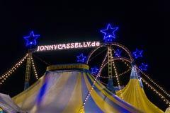 Xanten, Germany - December 27, 2017 circus Jonny Casselly. Tent Stock Photo