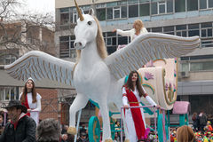 Xanthi Carnival Parade Stock Image