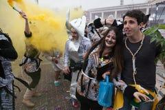 Xanthi Carnival Parade Royalty Free Stock Photography