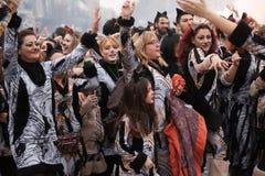 Xanthi Carnival Parade Stock Photography