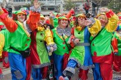 Xanthi Carnival Parade Royalty Free Stock Images