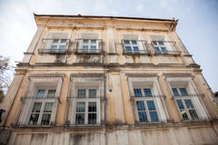Xanthi, Greece. Old house, neoclassical in old village of Xanthi, Greece Stock Images
