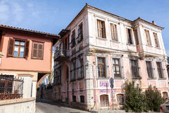 Xanthi, Greece. Old house, neoclassical in old village of Xanthi, Greece Stock Image