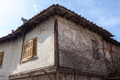 Xanthi, Greece. Old house, neoclassical in old village of Xanthi, Greece Stock Photos