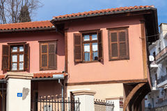 Xanthi, Greece. Old traditional house, neoclassical in old village of Xanthi, Greece Stock Images