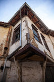 Xanthi, Greece. Old traditional house, neoclassical in old village of Xanthi, Greece royalty free stock image
