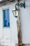 Xanthi, Greece. Old traditional house, neoclassical in old village of Xanthi, Greece stock photo