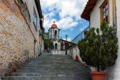 XANTHI, GREECE - SEPTEMBER 23, 2017: Stone orthodox church town of Xanthi, East Macedonia and Thrace, Greece Stock Photos