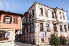 Xanthi, Griechenland stockbild