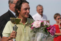 Xanthopoulos,Golf, Alps tour,  Pléneuf 2006 Royalty Free Stock Image