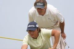 Xanthopoulos,Golf, Alps tour,  Pléneuf 2006 Royalty Free Stock Photo