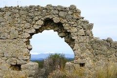 Xanthos fördärvar, Turkiet Arkivbilder