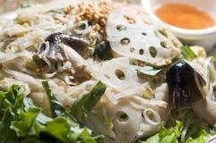 Xao vietnamita del panino dell'alimento fotografia stock