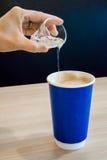 Xarope e café Imagens de Stock Royalty Free