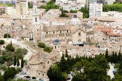 Xativa - Испания стоковая фотография