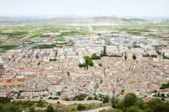 Xativa - Spanien Stockfotografie