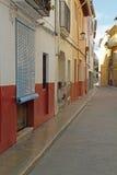 Xativa town, Valencia province,Spain Royalty Free Stock Photos