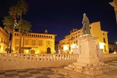 Xativastad, de provincie van Valencia, Spanje Stock Foto's