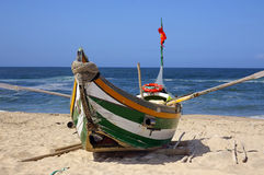 Xavega-Fischboot Lizenzfreies Stockfoto