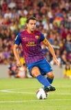 Xavi de FC Barcelona Fotografía de archivo libre de regalías