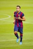Xavi del FC Barcelona Fotos de archivo libres de regalías