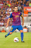 Xavi of FC Barcelona Stock Photo