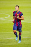 Xavi of FC Barcelona Royalty Free Stock Photos