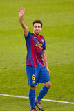 Xavi of FC Barcelona Stock Photography