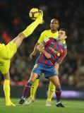 Xavi Hernández de FC Barcelona Fotos de archivo