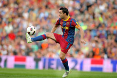 Xavi Hernandez of Barcelona Royalty Free Stock Images