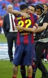 Xavi Hernandez FC Barcelone v La Corogne Liga - Espagne Stock Photography