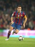 Xavi Hernandez von FC Barcelona Lizenzfreie Stockbilder
